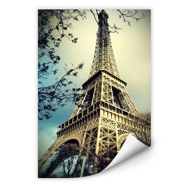 Wallprint Paris Eiffelturm