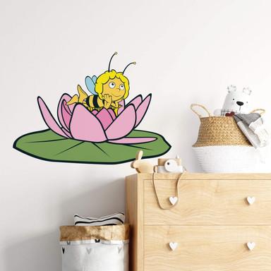 Wandsticker Die Biene Maja Seerosentraum