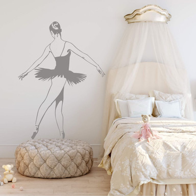 Wandtattoo Ballerina 2