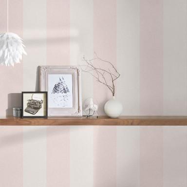 A.S. Création Vliestapete New Elegance Streifentapete gestreift, creme, rosa