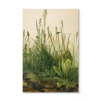 Holzposter Dürer - Das grosse Rasenstück