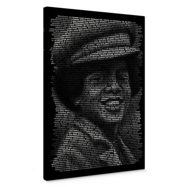 Leinwandbild Heine - Michael Jacksons Biographie