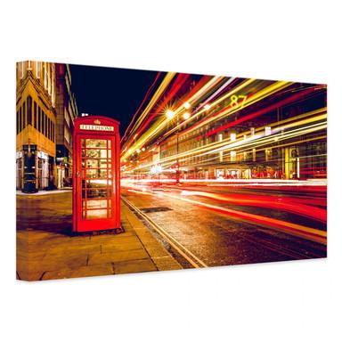 Leinwandbild London City Lights
