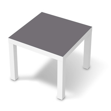 Möbelfolie IKEA Lack Tisch 55x55cm - Grau Light