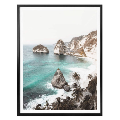 Poster Colombo - Balinesischer Strand