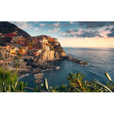 Fototapete The Picturesque Village