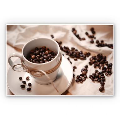 Wandbild Kaffee Zauber