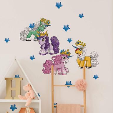 Wandsticker Filly Unicorn Dreams Set