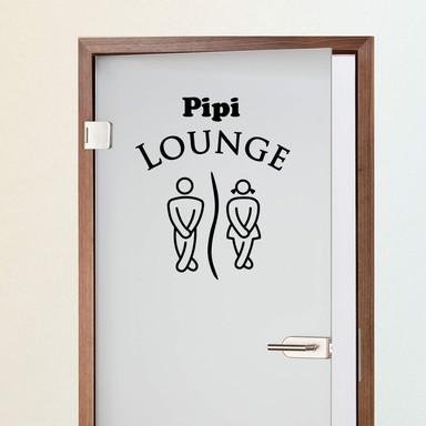 Wandtattoo Pipi Lounge 2