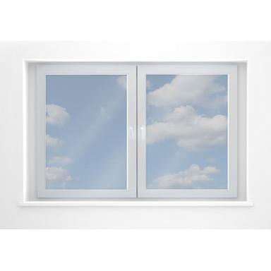 Fensterfolie Sonnenschutzfolie transparent - selbstklebend - Bild 1