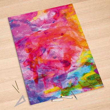 Folienbogen (100x150cm) - Abstract Watercolor