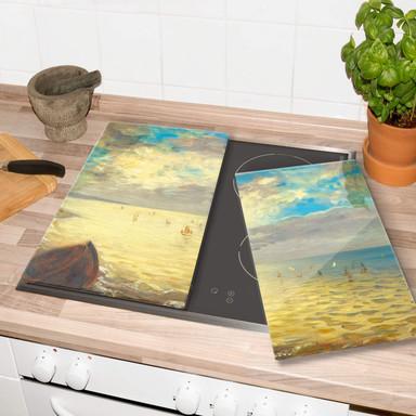 Herdabdeckplatte - Delacroix - Das Meer