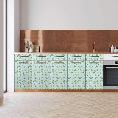 Küchenfolie - Unterschrank 200cm Breite - Hey Banana