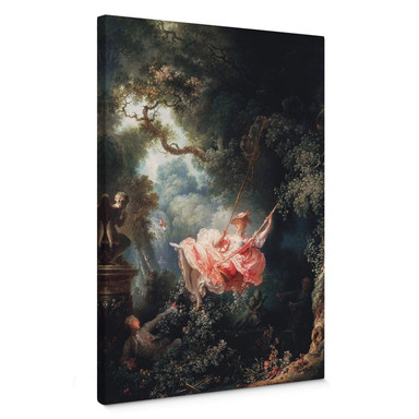 Leinwandbild Fragonard - Die Schaukel