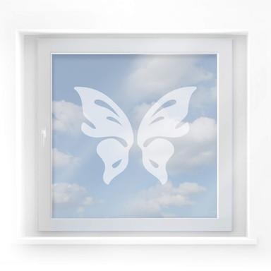 Milchglasfolie Schmetterling Floris