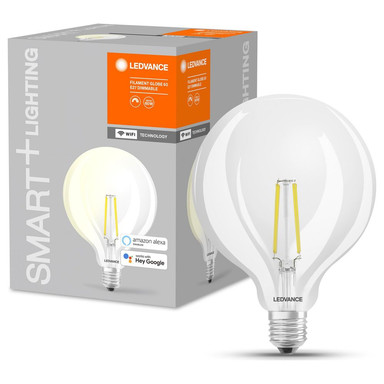SMART& Wlan LED Leuchtmittel G125 5.5W 806lm warmweiss klar
