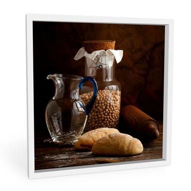 Wandbild Laercio - Italian Breads - quadratisch