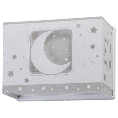 Kinderzimmer Wandleuchte Moonlight in Grau E27