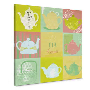 Leinwandbild Loske - Tea Time
