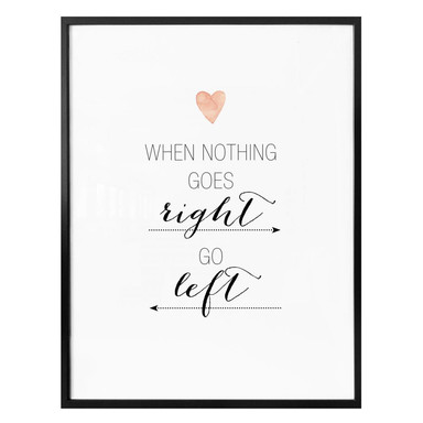 Poster Confetti & Cream - When nothing goes right