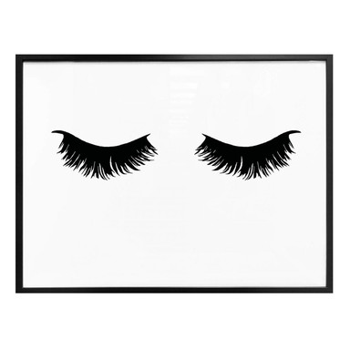 Poster - Lashes 01