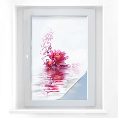 Sichtschutzfolie Blütenzauber