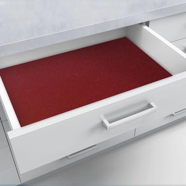Schubladenfolie selbstklebend bordeaux - Bild 1