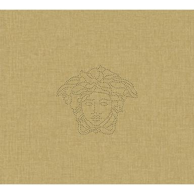 Versace wallpaper Designpanel Medusa creme, metallic