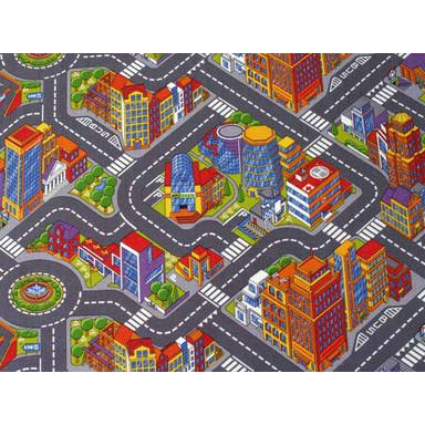 Abenteuer Stadt Kinder Teppichboden