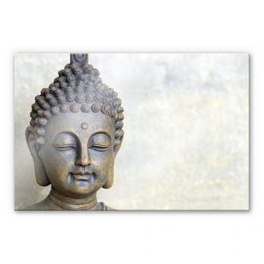 Acrylglasbild Buddha Gesicht