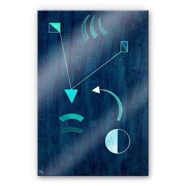 Acrylglasbild Kandinsky - Dahin