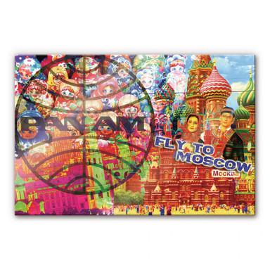 Acrylglasbild PAN AM - Moskau