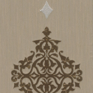 Architects Paper textiles Designpanel AP Wall Fashion creme, metallic - Bild 1