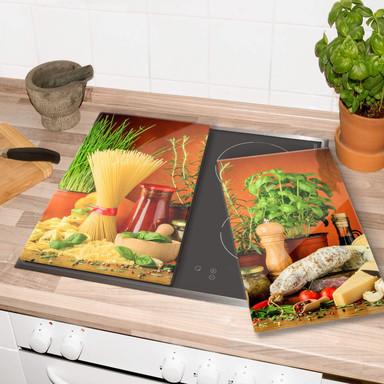 Herdabdeckplatte Italienisch Kochen