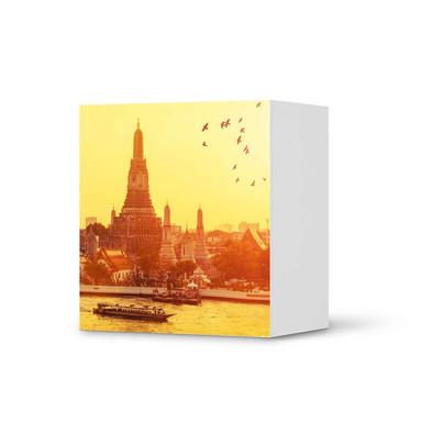 Klebefolie IKEA Besta Regal 1 Türe - Bangkok Sunset