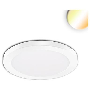 LED Aufbau/Einbauleuchte Slim Flex, 12W, weiss, ColorSwitch 3000K|3500K|4000K