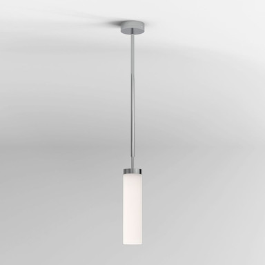 LED Pendlleuchte Kyoto in Chrom 7.8W 411lm