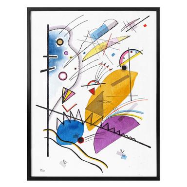 Poster Kandinsky - Durchgehender Strich
