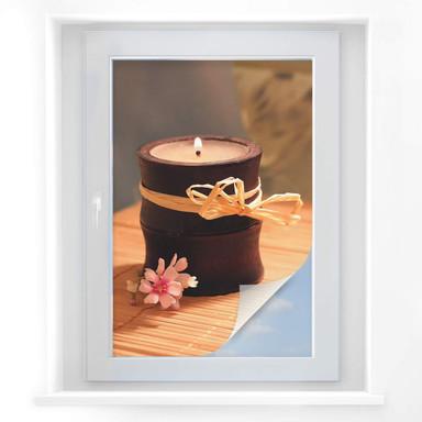 Sichtschutzfolie Wellness Candle
