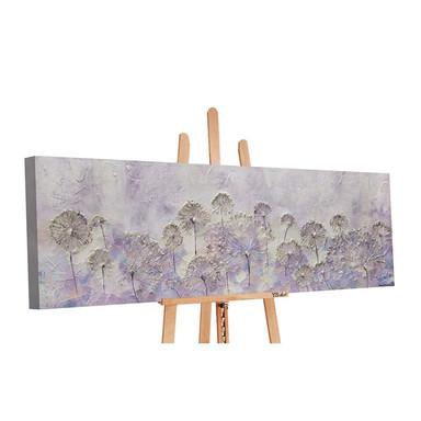 Acryl Gemälde handgemalt Frühlingsanfang 150x50cm - Bild 1