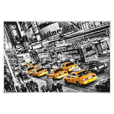 Giant Art® XXL-Poster Cabs Queue - 175x115cm - Bild 1