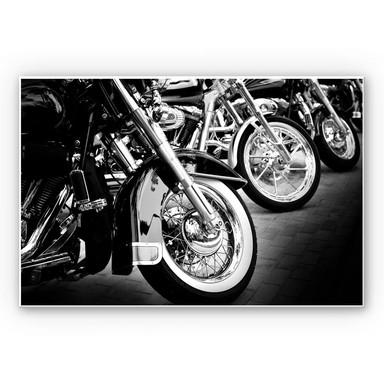 Hartschaumbild Motorcycle Wheels