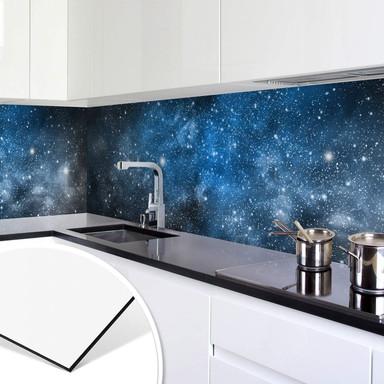 Küchenrückwand Ruhiger Weltraum