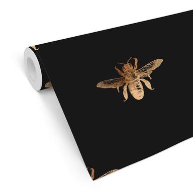 Mustertapete UN Designs - Die Bienenkönigin schwarz