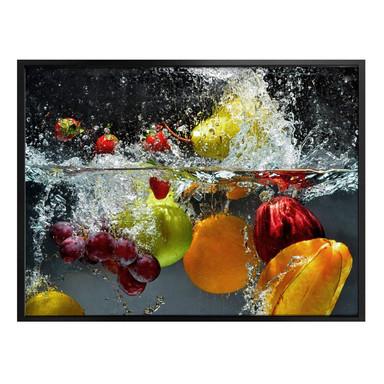 Poster Erfrischendes Obst