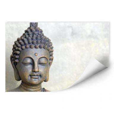 Wallprint Buddha Gesicht