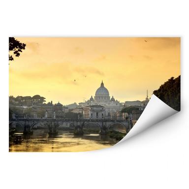 Wallprint Engelsbrücke mit Petersdom