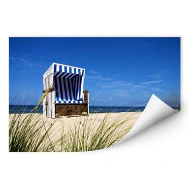 Wallprint Strandkorb