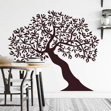 Wandtattoo Baum mehrteilig 1