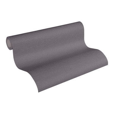 Vliestapete Premium Wall Tapete Unitapete braun, metallic